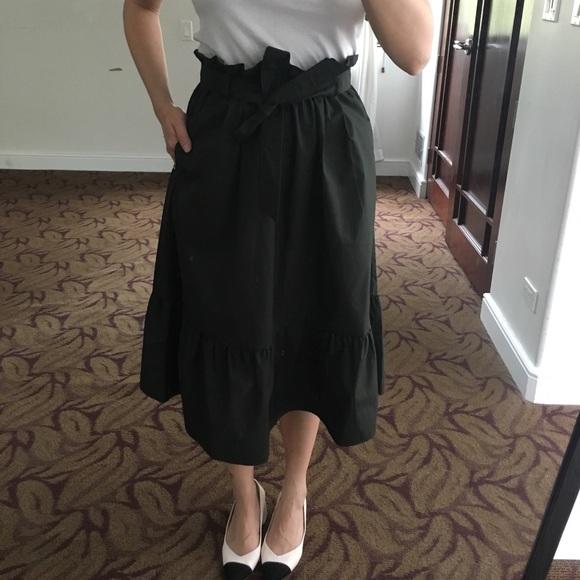 0606a6b90f Uniqlo Skirts | Highwaisted Olive Green Skirt Size Xs | Poshmark